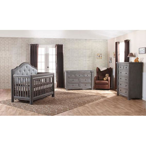 Pali Cristallo Double Dresser in Granite - Posh Baby Co.