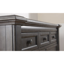 Load image into Gallery viewer, Pali Cristallo Double Dresser in Granite - Posh Baby Co.