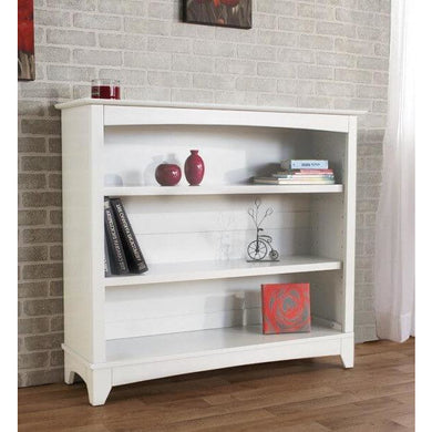 Pali Cristallo Bookcase Hutch in Vintage White - Posh Baby Co.