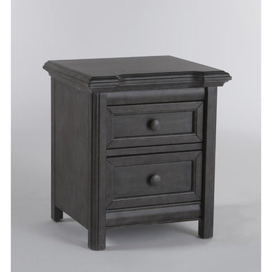 Pali Cristallo Nightstand in Granite - Posh Baby Co.