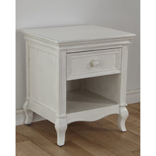 Load image into Gallery viewer, Pali Diamante Night Stand in Vintage White - Posh Baby Co.