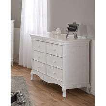 Load image into Gallery viewer, Pali Diamante Double Dresser in Vintage White - Posh Baby Co.