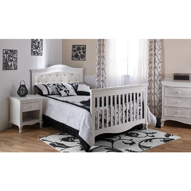 Pali Diamante Universal Bed Rails in Vintage White - Posh Baby Co.