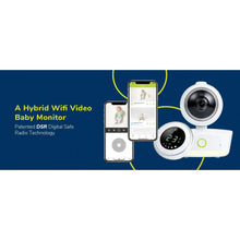 Load image into Gallery viewer, Bebcare iQ - WiFi HD Hybrid Monitor - Posh Baby Co.