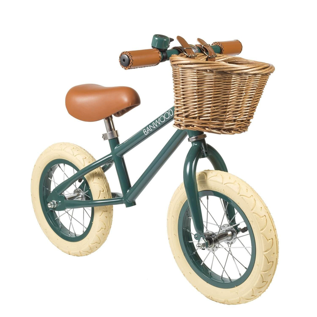 Banwood First Go Kids Balance Bike - Green - Posh Baby Co.