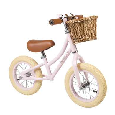 Banwood First Go Kids Balance Bike - Pink - Posh Baby Co.