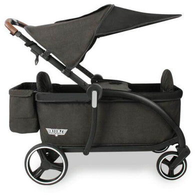 Keenz Class Stroller Wagon - Black - NEW 2020 - Posh Baby Co.