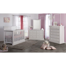 Load image into Gallery viewer, Pali Modena Collection 3-Piece Nursery Furniture Set - Vintage White - Posh Baby Co.