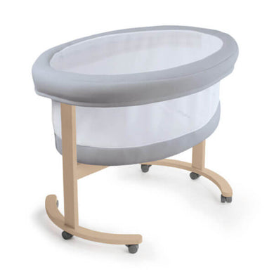 Micuna Smart Fresh Bassinet - Natural Base - Posh Baby Co.
