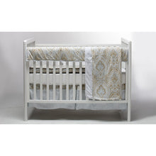 Load image into Gallery viewer, Pali Regale 4-Piece Crib Bedding Set - Cream Sheet - Posh Baby Co.