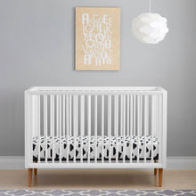 Load image into Gallery viewer, Kolcraft Roscoe 3-In-1 Convertible Crib - White - Posh Baby Co.