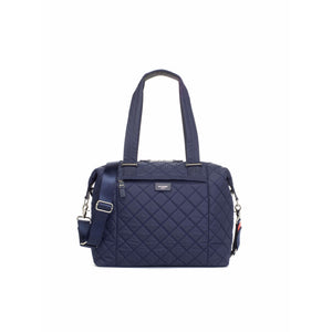 Storksak Stevie Luxe Tote Diaper Bag With Quilted Finish