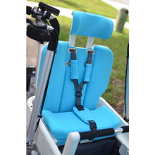 Load image into Gallery viewer, Taga Family Cargo Bike Luxury Seat Padding - Blue - Posh Baby Co.