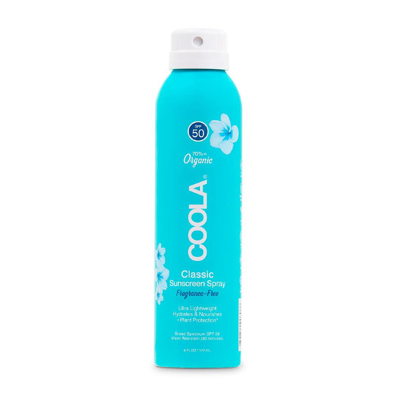 Coola Classic Body Organic Sunscreen Spray Fragrance-Free