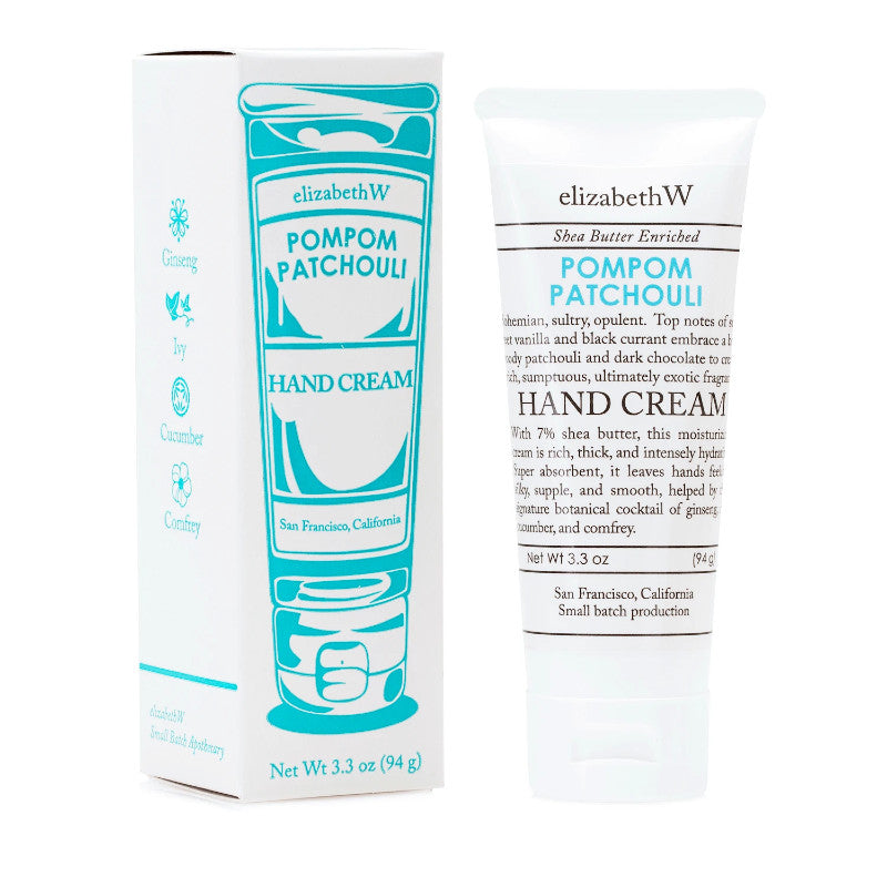 elizabethW Hand Cream - Lavender, Leaves or Pompom Patchouli