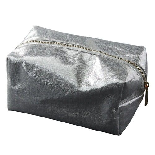 Metallic Make-up & Toiletry Bags