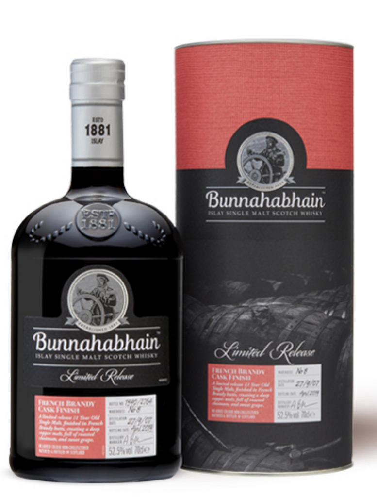 Bunnahabhain 2007 French Brandy Finish