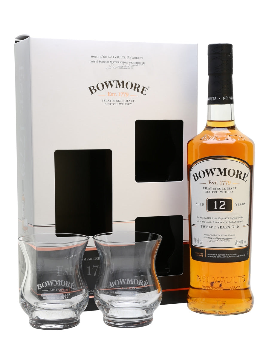 Bowmore 12 Year Gift Box