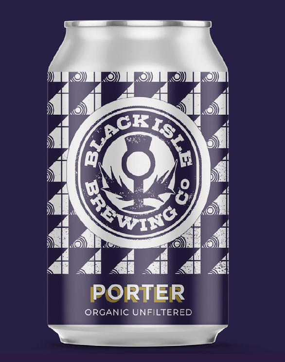 Black Isle Porter 330ml can