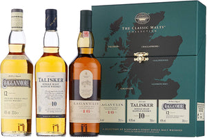 Classic Malts of Scotland – Strong Triple 20cl Pack