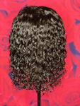 """TIWA"" Malaysian Deep Curly Lace Front  Ready Wear Wig"