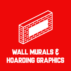wall murals and hoarding graphics