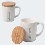 DA8787 - BAMBOO CHIC MUG WITH BAMBOO LID