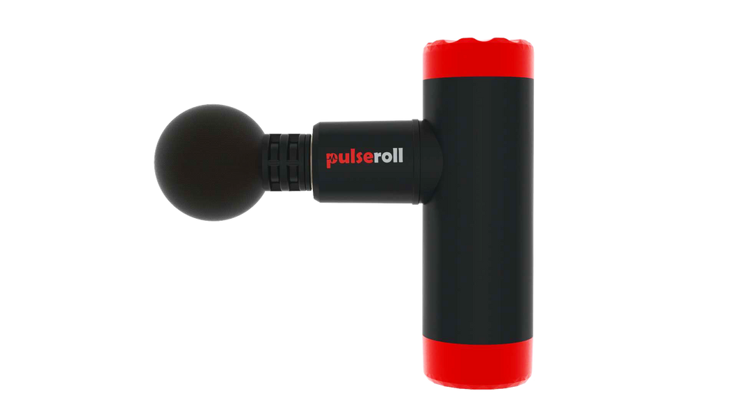 pulseroll massage gun mini, pose fit