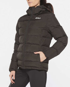 2xu utility insulation jacket, 2xu jacket, 2xu padded jacket, 2xu padded coat, 2xu womens black jacket, 2xu uk, pose fit