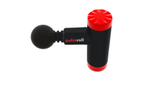 Load image into Gallery viewer, pulseroll massage gun mini aerial view, pose fit