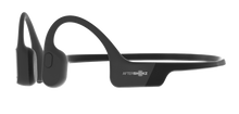 Load image into Gallery viewer, Aftershokz aeropex, aftershokz aeropex headphones, aftershokz headphones, aftershokz wireless headphones, aftershokz aeropex wireless headphones, lunar grey aftershokz headphones, aftershokz headphones cosmic black, aftershokz black headphones