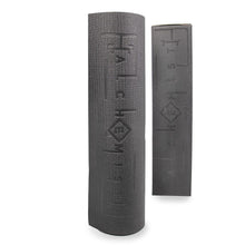 Load image into Gallery viewer, Alchemist Performance Yoga Mat product vertically standing with box, Performance Yoga Mat, Non slip yoga mat, pose fit