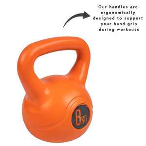 8kg kettlebell, pose fit
