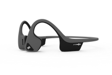 Load image into Gallery viewer, AFTERSHOKZ Trekz Air Wireless Bluetooth Headphones Slate Grey, Pose Fit, Aftershokz Air headphones