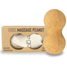 Myga Cork Massage Peanut in box, peanut ball, massage peanut, pose fit