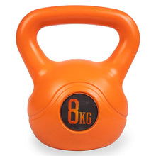 Load image into Gallery viewer, Phoenix Fitness 8kg orange kettlebell, 8kg phoenix fitness kettlebell, kettlebell, kettlebell 8kg, pose fit