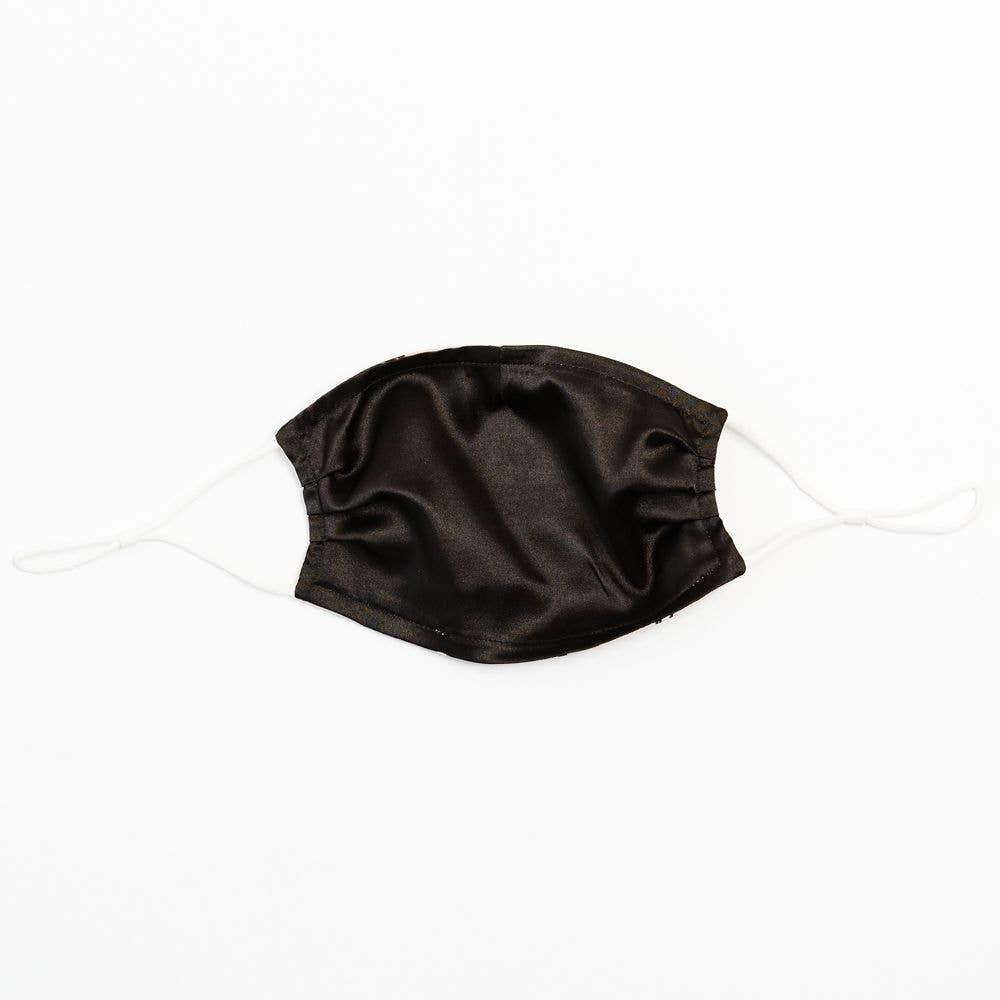 Soul Perch Winter Blossoms Satin Face Mask