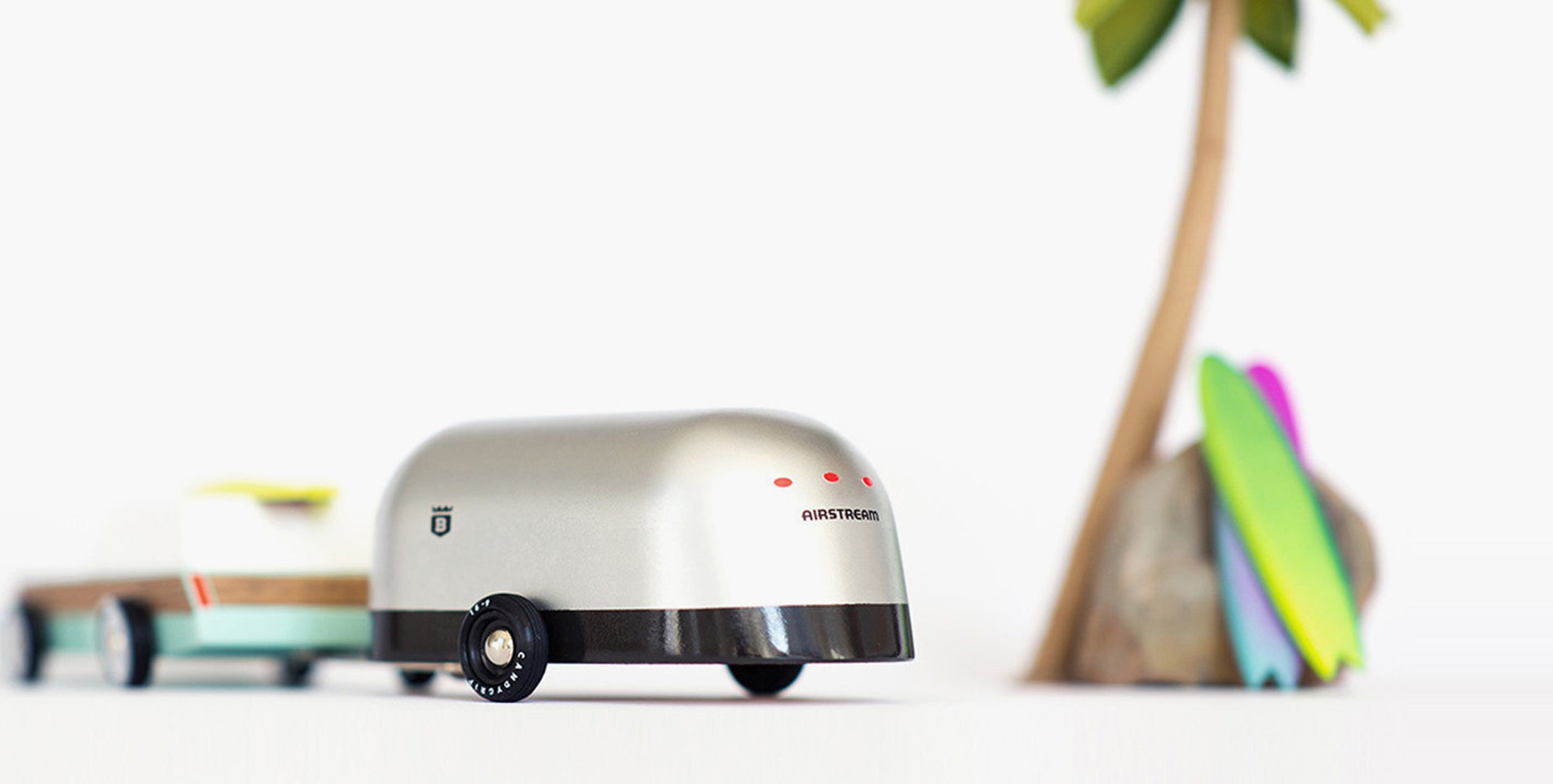 Camper Airstream Wooden Toy