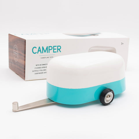 Camper Wooden Car