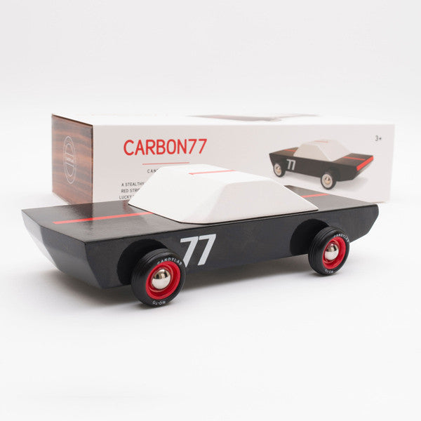 Carbon77 Wooden Car