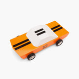 Orange Racer GT 10 Wooden Car