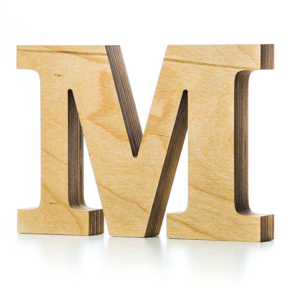 wood block letters wooden letter crafted from quality birch plywood 25665