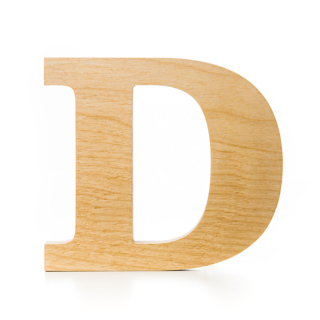 wooden letter d wooden letter crafted from quality birch plywood 25673
