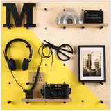 Pegboard Zinc Yellow Strip
