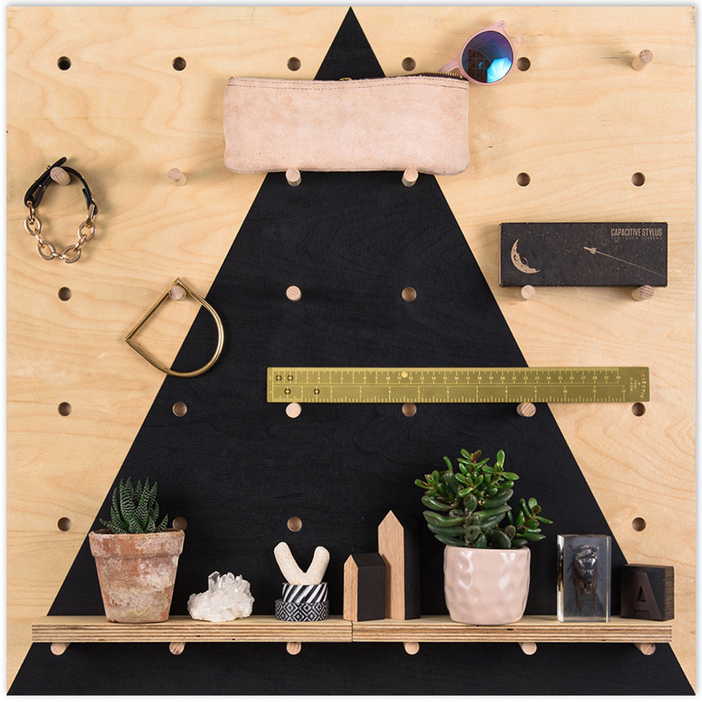 Pegboard Black Triangle