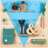 Pegboard Blue Piscine Triangle