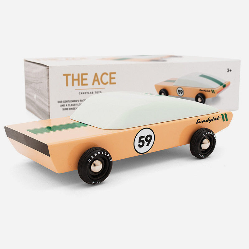Ace Wooden Car