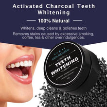 Load image into Gallery viewer, Charcoal Teeth Whitening Kit