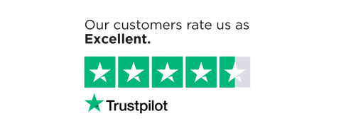 Trustpilot- Our customers rate us as Excellent