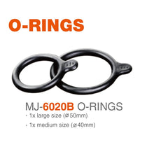Load image into Gallery viewer, Magicshine® MJ-6020B O-rings Handlebar Mount